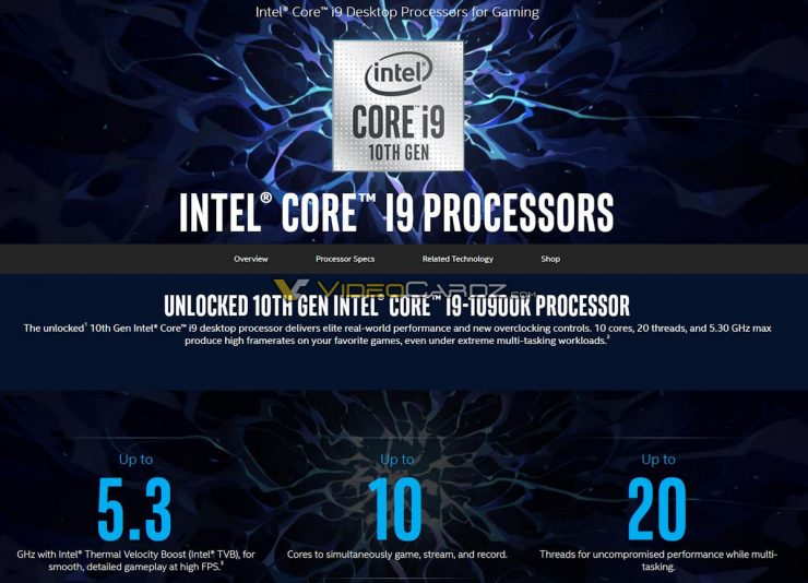 diapositiva Intel Core i9 10900K 740x534 0