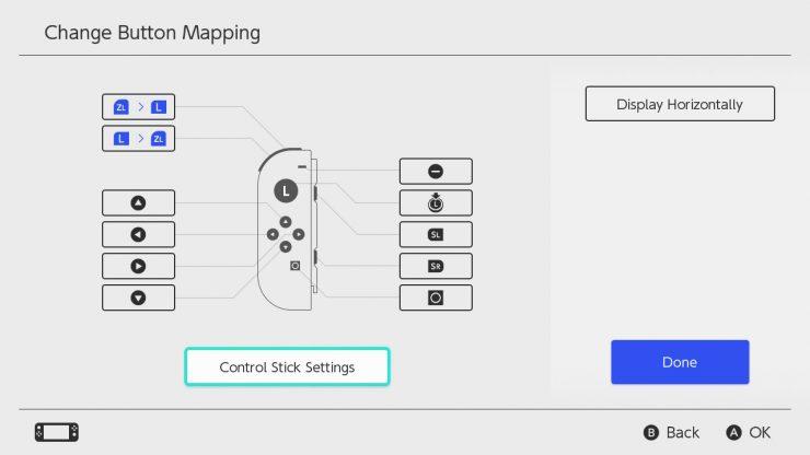 remapeo de botones Nintendo Switch 740x416 0