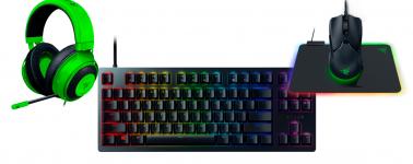 [Sorteo Finalizado] Llévate un pack gaming (ratón, teclado, auriculares y alfombrilla) gracias a Razer