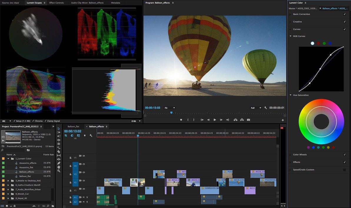 Adobe Premiere Pro Se Actualiza Para Codificar Vídeo Por Gpu Siendo 5x Veces Más Rápido Que Una Cpu