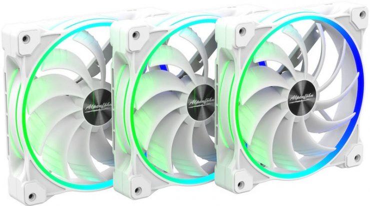 Alpenföhn Wing Boost 3 ARGB White