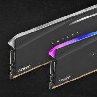 Antec Katana: Kits de memoria de 16GB de capacidad @ 3200/3600 MHz
