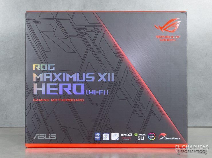 Asus ROG Maximus XII Hero (Wi-Fi) - Embalaje 1