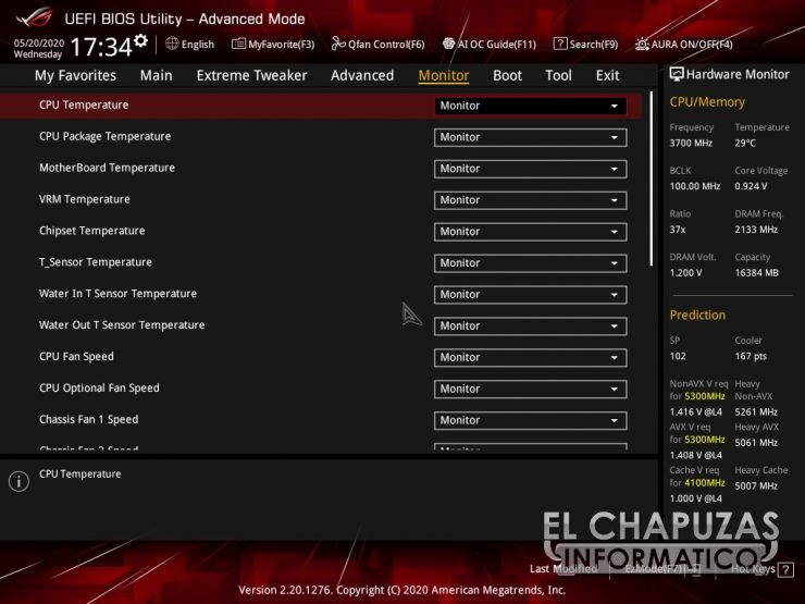Asus ROG Maximus XII Hero Wi Fi BIOS 14 740x555 47