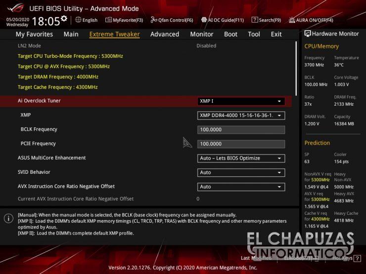 Asus ROG Maximus XII Hero (Wi-Fi) - BIOS 3
