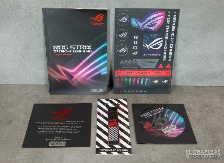 Asus ROG Strix Z490-I Gaming - Documentación