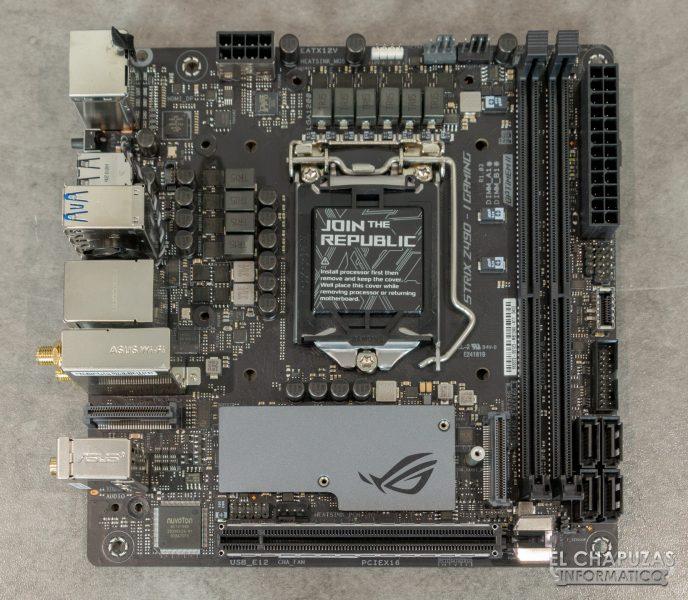 Asus ROG Strix Z490-I Gaming 8