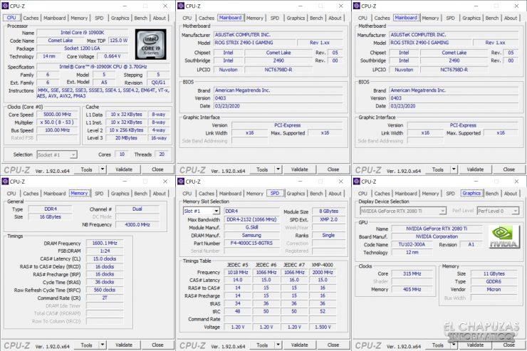 Asus ROG Strix Z490-I Gaming - Equipo de pruebas 4