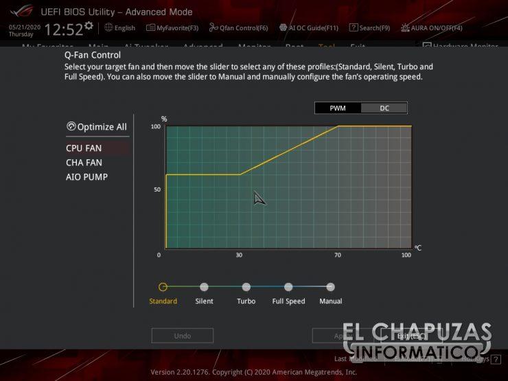 Asus ROG Strix Z490 I Gaming BIOS 17 740x555 50
