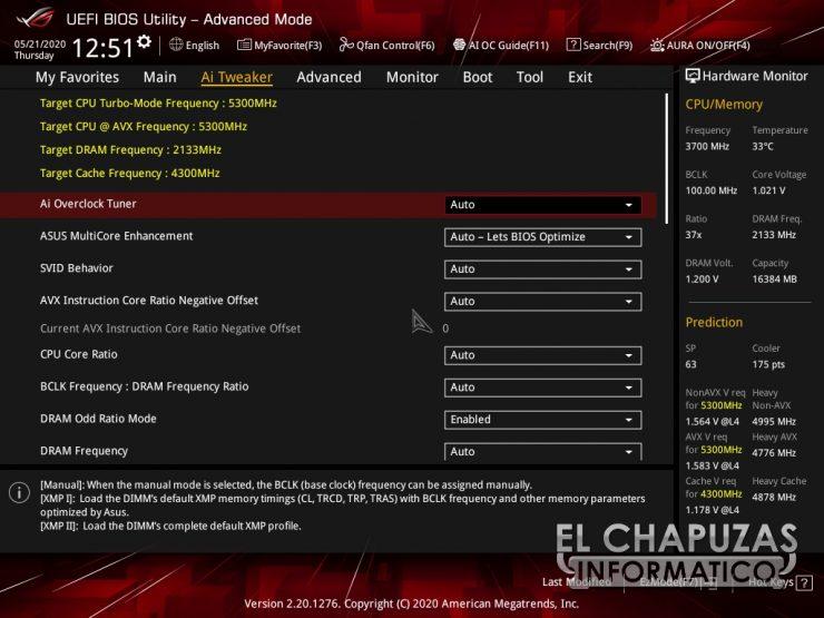 Asus ROG Strix Z490-I Gaming - BIOS 3