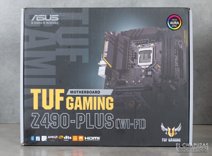 Asus TUF Gaming Z490-Plus (Wi-Fi) - Embalaje 1