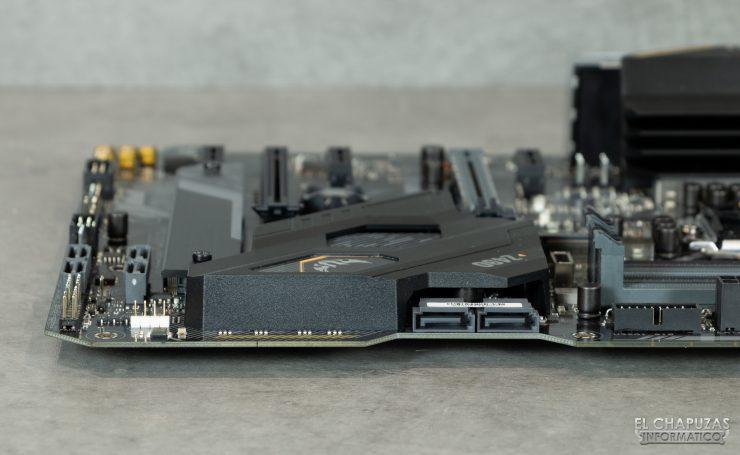 Asus TUF Gaming Z490-Plus (Wi-Fi) - Margen derecho