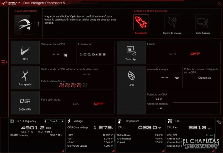 Asus TUF Gaming Z490-Plus (Wi-Fi) - Software
