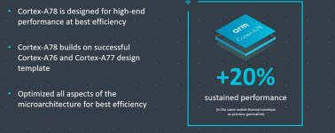 ARM anuncia su nuevo procesador Cortex-A78, un 20% más rápido que el Cortex-A77