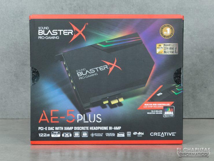 Creative Sound Blaster AE-5 Plus - Embalaje 1