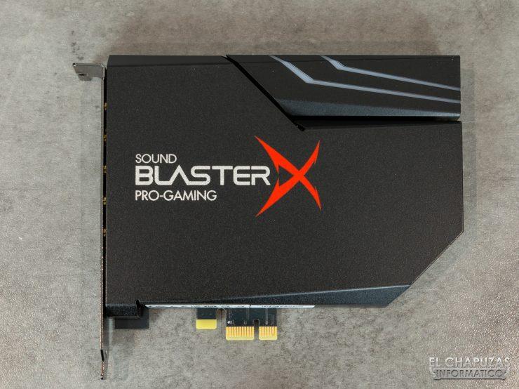 Creative Sound Blaster AE-5 Plus - Vista superior