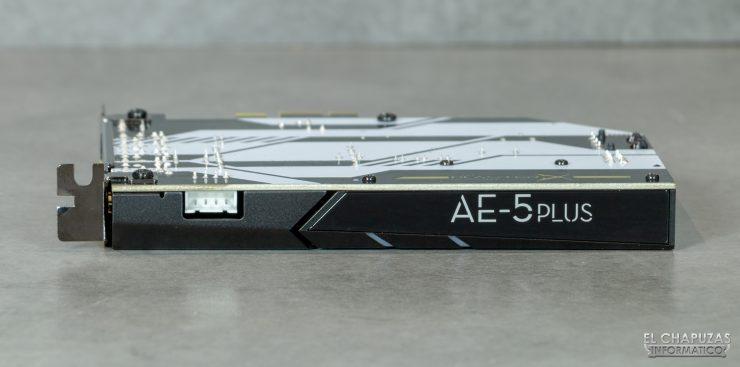 Creative Sound Blaster AE-5 Plus - Vista lateral