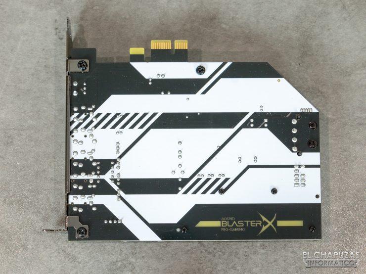 Creative Sound Blaster AE-5 Plus - PCB posterior