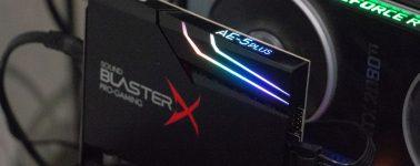 Review: Creative Sound Blaster AE-5 Plus (tarjeta de sonido gaming)