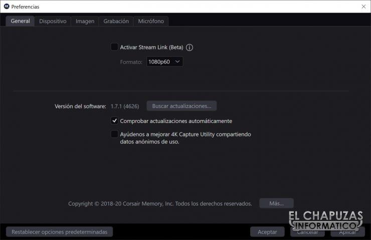 ElGato 4K60 S+ - 4K Capture Utility 3