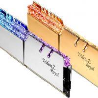 G.Skill lanza sus memorias Trident Z Royal @ 5000 MHz optimizadas para los Intel Core 10ª Gen