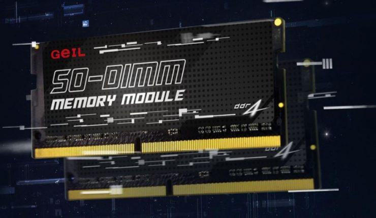 GeIL SO-DIMM 3200 MHz