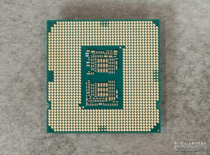 Intel Core i9-10900K - Vista inferior