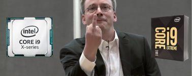 Linus Torvalds: «Espero que el AVX-512 tenga una muerte dolorosa; Intel, dame más núcleos como AMD»