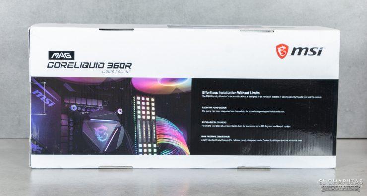 MSI MAG Coreliquid 360R - Embalaje 2