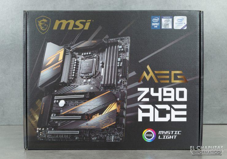 MSI MEG Z490 Ace - Embalaje 1