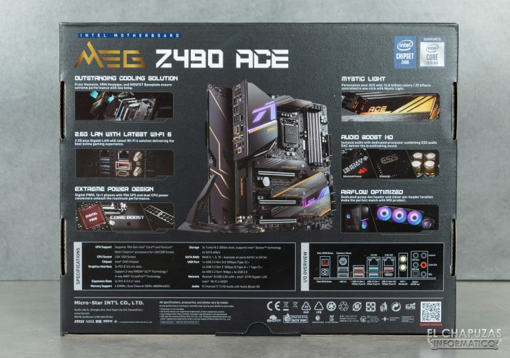 MSI MEG Z490 Ace - Embalaje 2