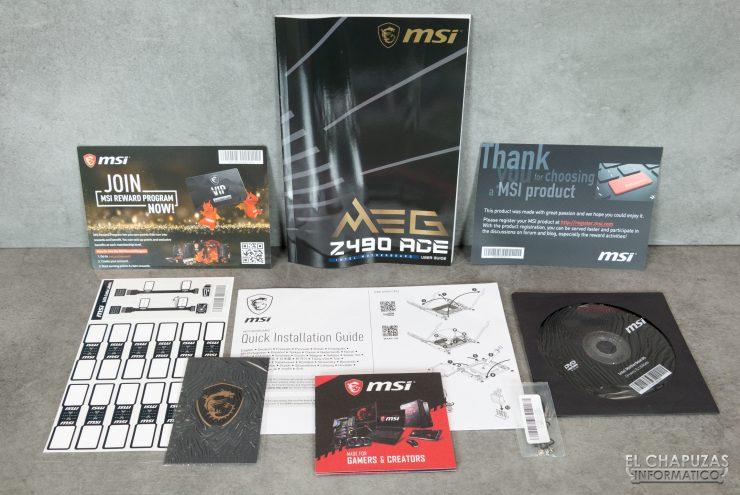 MSI MEG Z490 Ace - Documentación