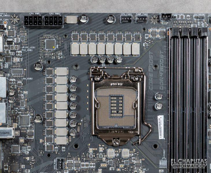 MSI MEG Z490 Ace - Socket LGA 1200 y VRM