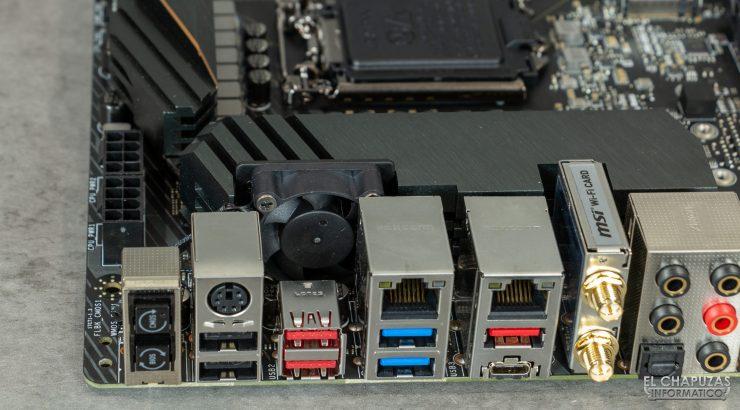 MSI MEG Z490 Ace - Ventilador VRM
