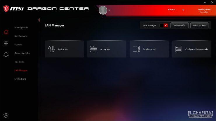 MSI MEG Z490 Ace - Dragon Center 5