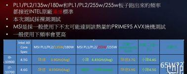MSI también se suma al overclocking de las CPUs Intel Comet Lake 'no K'