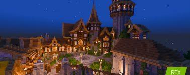 Minecraft RTX recibe 5 nuevos mapas gratuitos que harán sudar a tu Nvidia GeForce RTX