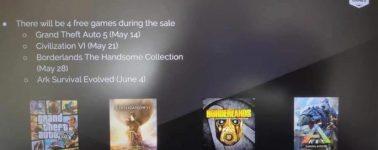 La Epic Games Store también regalaría el Civilization VI, Borderlands: The Handsome Collection y ARK