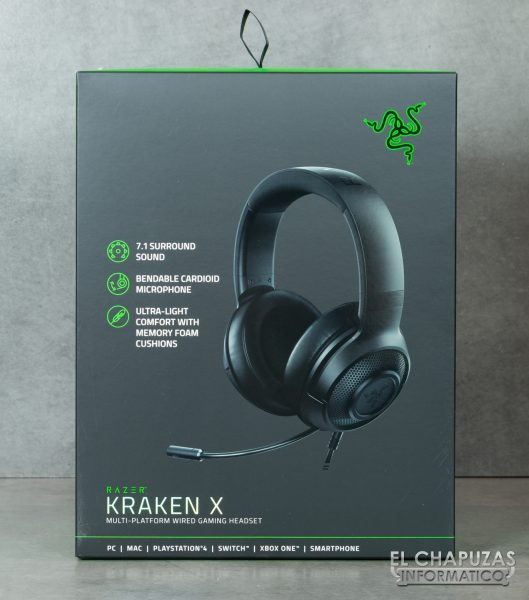 Razer Kraken X - Embalaje 1