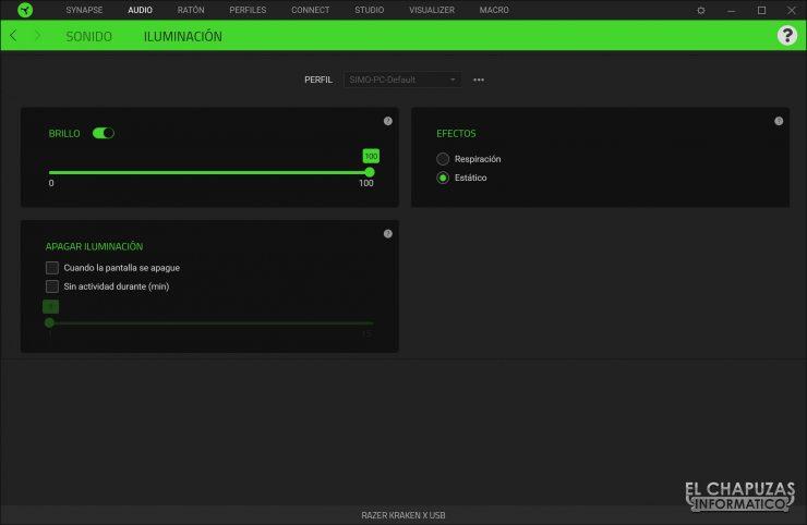 Razer Kraken X - Software 2