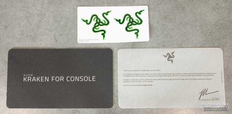 Razer Kraken for Consoles - Documentación