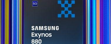 Samsung Exynos 880: SoC de gama media con conectividad 5G