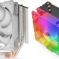 SilentiumPC Spartan 4 MAX EVO ARGB: Disipador CPU de gama media-baja con un ventilador hortero