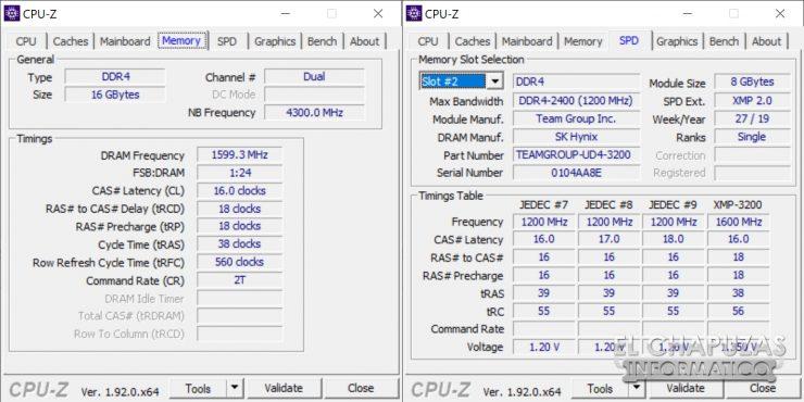 Team Group T-Force Dark Z DDR4 - Tests 1