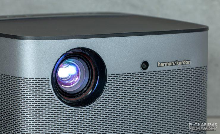 XGIMI H2 - Lente y cámara