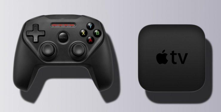 Apple TV con un controlador 740x376 0