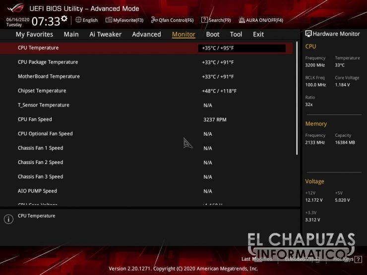 Asus ROG Strix B550-E Gaming (Wi-Fi) - BIOS 8
