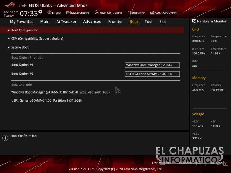 Asus ROG Strix B550-E Gaming (Wi-Fi) - BIOS 9