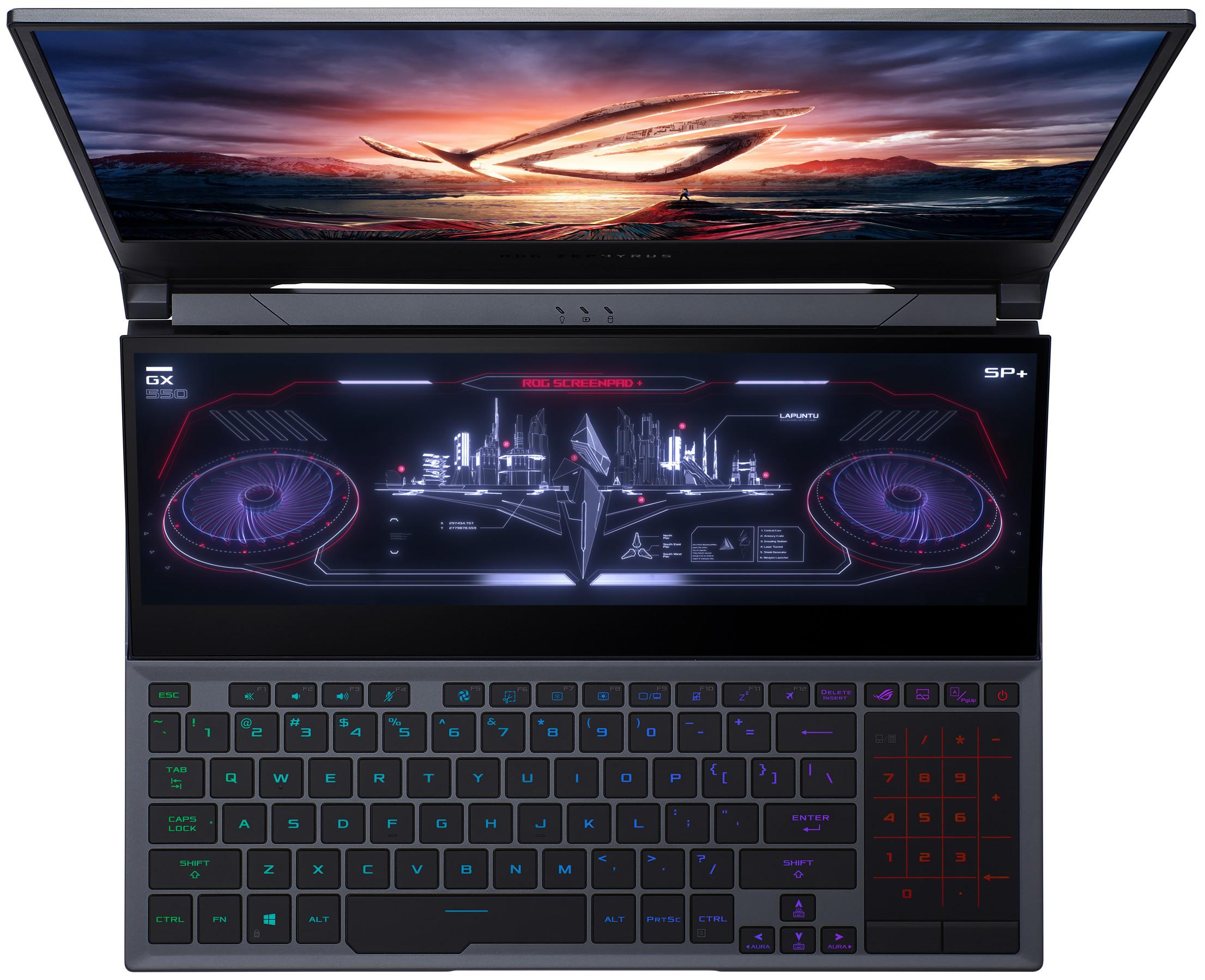 Asus prepara un ROG Zephyrus Duo 15 con una CPU Intel Core i7-11370H (Tiger  Lake-H)