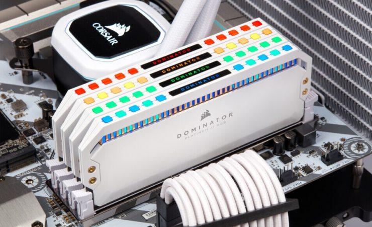 Corsair Dominator Platinum RGB White - Oficial